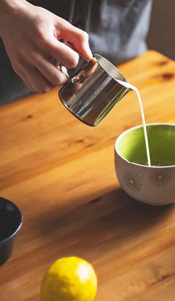 Frøsø køkken inspiration kaffe bordoverflade