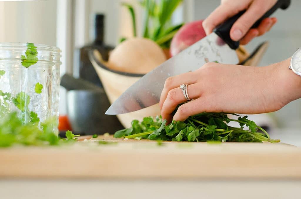 Frøsø køkken inspiration persille