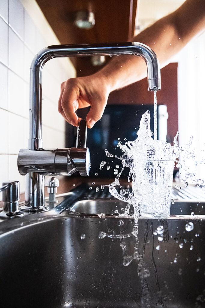 Frøsø køkken inspiration håndvask